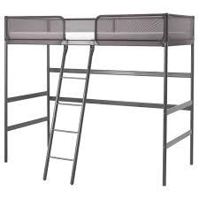 TUFFING Loft Bed Frame Dark Grey X Cm IKEA - Ikea bunk bed desk
