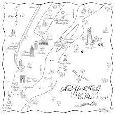 map of new york ny maps new york ny hooper calligraphy