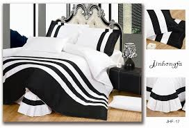 Black Duvet Cover King Size Bedroom Black White And Red Bedding Queen Amazoncom Chic Home
