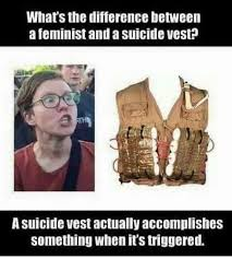 Feminist Memes - don t trigger a feminist eurokeks meme stock exchange