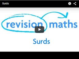 surds mathematics gcse revision