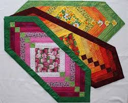 chevron table runner free quilting pattern chevron table