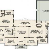 One Story Open House Plans House Plans With Open Floor Plans Simple One Story Floor Plans