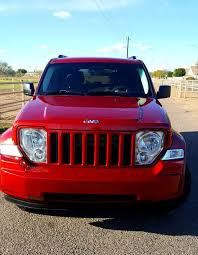 red jeep liberty 2010 low miles 95k beautiful jeep liberty 2010 candy apple red only