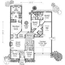 european style house plan 3 beds 2 5 baths 2069 sq ft plan 310
