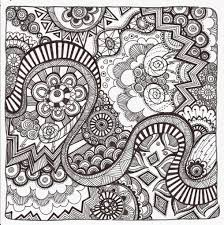 free printable zentangle coloring pages for adults throughout free