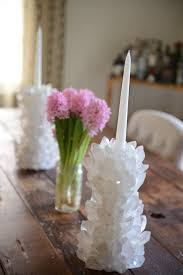 Gomi Cupcakes And Cashmere House Crystal Candle Stick Holders Crystals Gemstones Pinterest