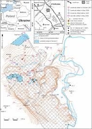 map of vi sketch map of the vi cin ity of starunia carpathian re gion