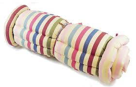 cotton roll up bed in medium amazon co uk kitchen u0026 home