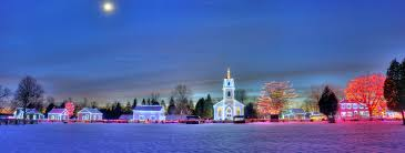 Heritage Park Christmas Lights D3s Panorama Iso 10000 Id Upper Canada Village Is A Her U2026 Flickr