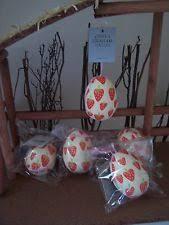 Gisela Graham Glass Easter Decorations by Gisela Graham Strawberry Glass Ebay