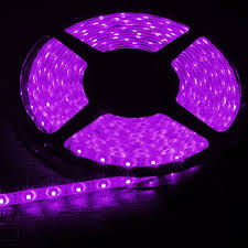 12v 16 4ft light purple waterproof led strip lights torchstar