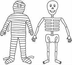 Free Printable Coloring Pages For Halloween by Printable Minecraft Skeleton Coloring Pages Cartoon Skeleton