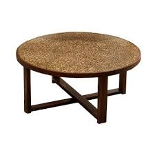 end tables and ls ls habitat round cocktail table w circle design coffee tables