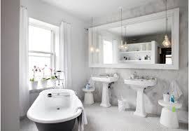 White Vanity Bathroom Ideas Home Decor Bookshelf Wall Mount Simple False Ceiling Designs For