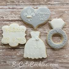 wedding cookies so cute cookies