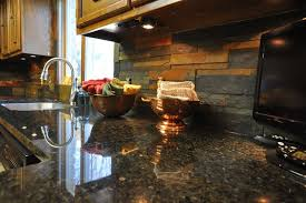 Kitchen Backsplash Ideas For Black Granite Countertops black granite countertops with tile backsplash fair software