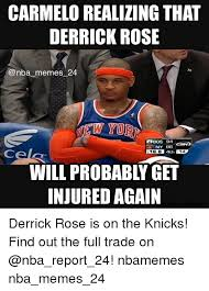 D Rose Memes - carmelo realizing that derrick rose nba memes 24 tw yord obos 94
