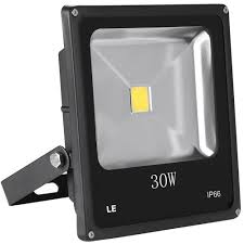 30w led flood lights daylight white led security floodlights le