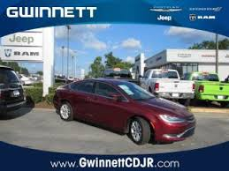 gwinnett chrysler dodge jeep ram 2017 chrysler 200 limited mountain ga atlanta snellville