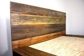 cascade u0027 reclaimed wood platform bed mfeo home pinterest