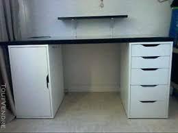 ikea bureau noir caisson sous bureau bureau noir et blanc ikea parfait actat