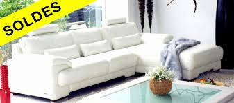 fauteuil et canapé cuir schöne soldes canap d angle table basse