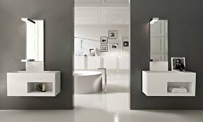 Contemporary Bathroom Mirrors by Home Decor Contemporary Bathroom Mirror Small Contemporary
