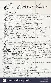 Lyrics For Comfortably Numb Pink Floyd Comfortably Numb Track From The Wall Album Stock Photo