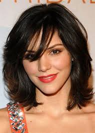 layered cuts for medium lengthed hair for black women in their late forties 25 modern medium length haircuts with bangs layers for thick hair