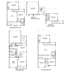 Townhome Floor Plan by Sandpiper Townhome Park West Mount Pleasant South Carolina