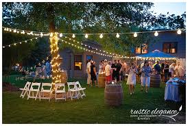 wedding planners mn backyard wedding lissa brett mn wedding planner rustic