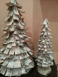 birch bark christmas tree christmas decore