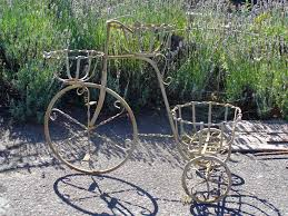 j pedersen home and garden gift decor large 3 basket tricycle