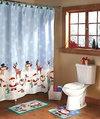 32 best christmas shower curtain set images on pinterest