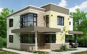 2 story house designs 2 storey house design with roof deck ideas architecture