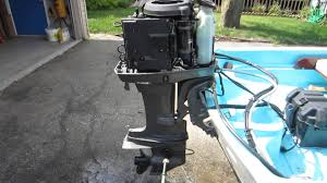 mariner 40hp outboard 1996 elpto youtube