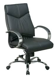 Leather And Chrome Chairs Office Star 8201 Mid Back Unique Leather Conference Room Chairs