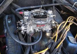 installing a new edelbrock 1406 carburetor engine
