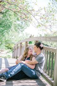 madison olbrich botanical garden engagement ben u0026 ashley