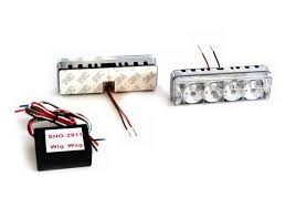 led strobe light kit dual 8w led strobe light kit with flasher ex73strb