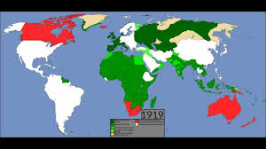 Map Of Europe 1919 by 500 Years Of European Colonialism Youtube