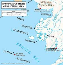 A Map Of Alaska by A Guide To The Notorious Bars Of Alaska Map Of Western Alaska