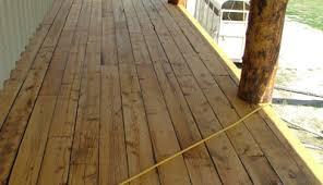 reclaimed or repurposed wood