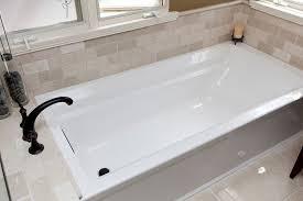 Tile Around Bathtub Elegant Kohler Archer In Bathroom Eclectic With Allen U0026 Roth