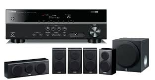 home theater yamaha yamaha htr 2866 u0026 ns pb150 5 1 channel 600w 3d home cinema