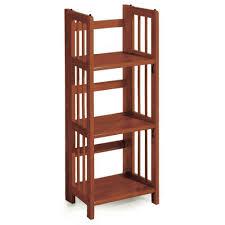 concepts in wood midas espresso open bookcase mi4848 e the home