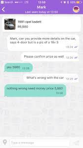 opel olx new scam on olx