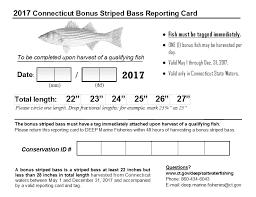 bonus striped bass program