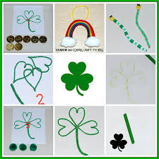 st patrick u0027s day crafts u0026 activities for young kids wikki stix